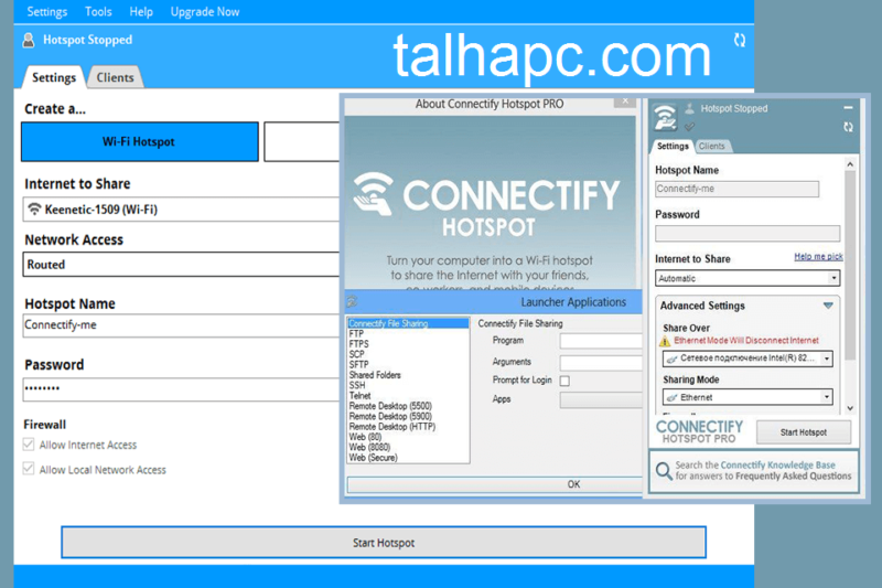 Connectify Hotspot Pro 2021 Crack + Serial Key Free Download [Latest]